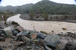 The River. Santiago Canyon